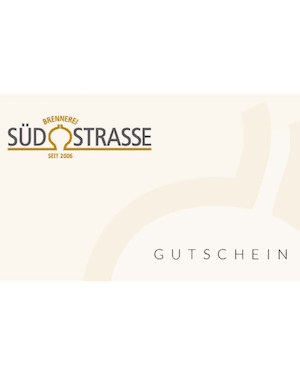 Gutschein Brennerei Südstrasse