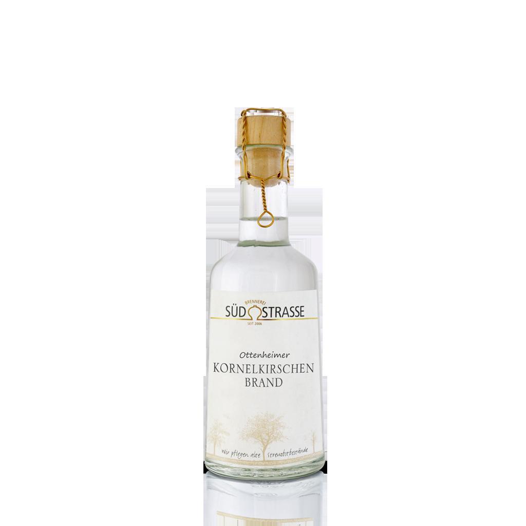 Gemeinsame Kornelkirsche Destillat (0,25l, 41% vol) | Brennerei Südstrasse #GD_45