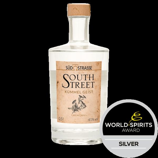 Southstreet Kümmel Geist siebdestilliert