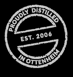 Proudly distilled in Ottenhem bei Lahr (Schwarzwald) und Offenburg