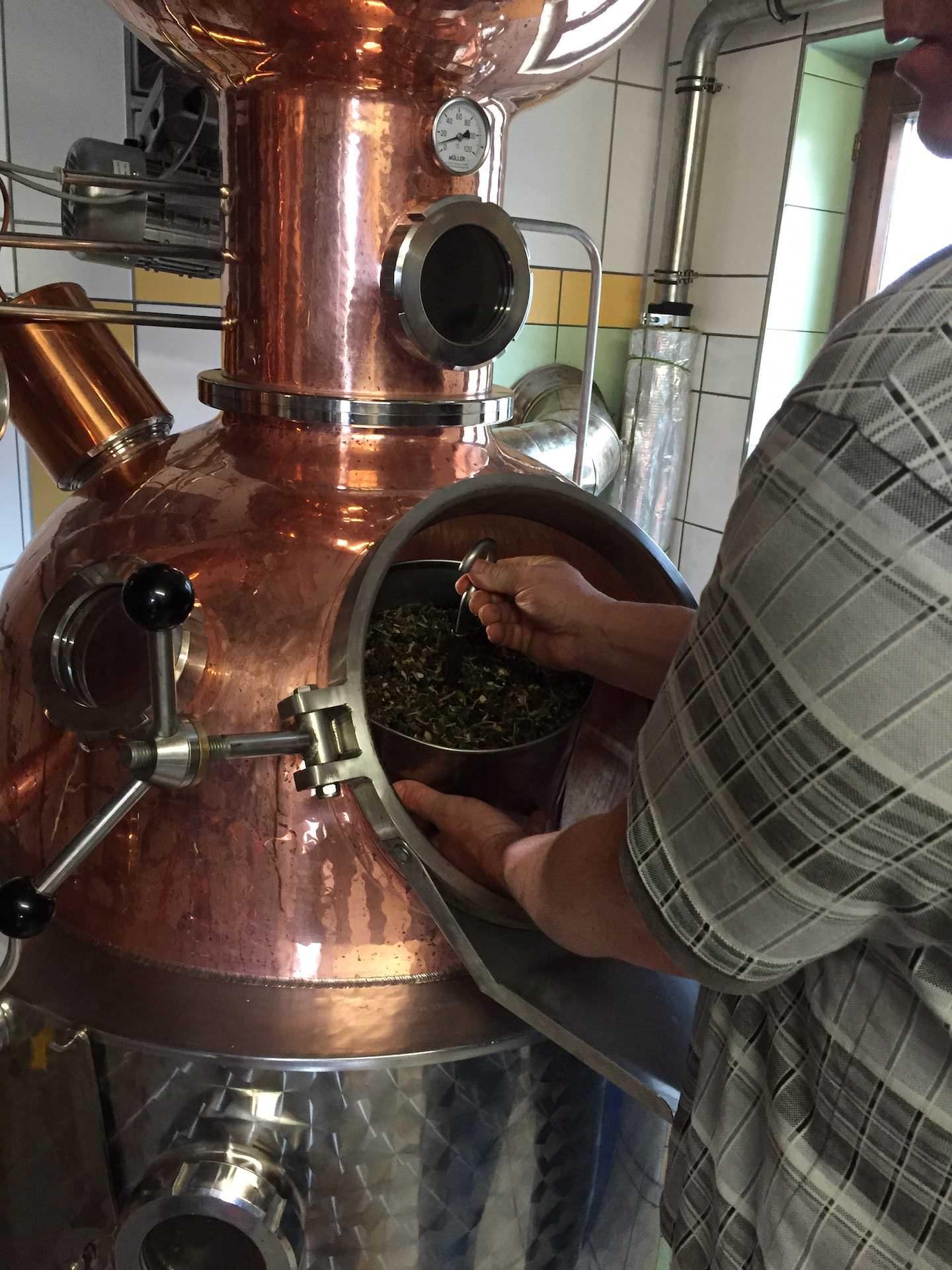 Was ist Sieb Destillation (Siebdestillierter Gin)?